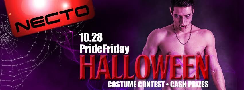 a event poster for pride presents haunted halloween party performing at - Detroit Halloween Parties