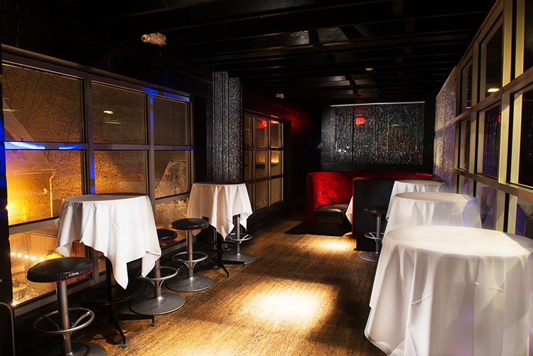 The VIP Room at the Necto Nightclub in Ann Arbor, Michigan.